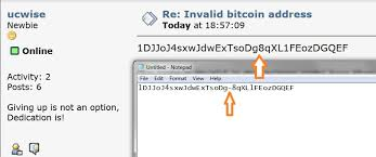 In simple terms, a bitcoin address is a public identifier for your bitcoin wallet, acting as a virtual location where the cryptocurrency can be sent. Invalid Bitcoin Address