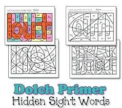 Worksheet 1 Dolch Word List First Grade Worksheets Primer Sight
