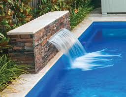 the waterwall water feature pool