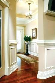 wall moulding panels panel molding ideas crown bedroom