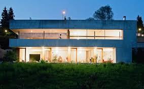 Concrete Prefab House in Switzerland