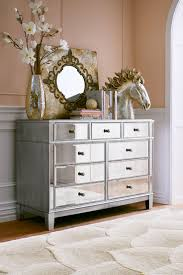 hayworth furniture collection. Hayworth Mirrored Dresser Amazing Unique Design Laminated Gray Rectangle Wooden Cabinet Nine Drawers Small Metal Knob Handle Furniture Collection E