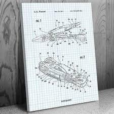 Leatherman Skeletool Multi Tool Canvas Patent Art Print