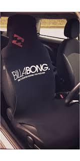 billabong neoprene car seat cover single h4as14