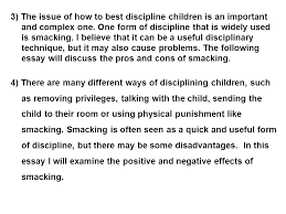 smacking is a common way to control children s behaviour ppt 3 3