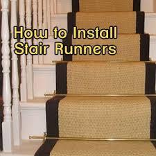 DIY tutorial on installing stair runners