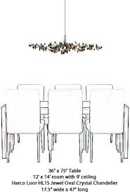 dining room lighting height chandelier size for dining room monumental light height fine dining room table
