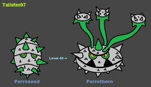 Ferroseed Evolution Chart 70 Conclusive When Does Ferroseed Evolve