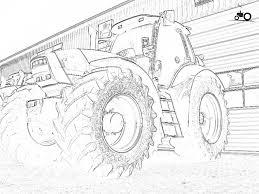 Tractor Kleurplaat Printen