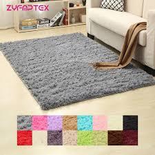 plush bedroom rugs. Beautiful Plush ZYFMPTEX 2018 Plush Shaggy Soft Carpet Room Area Rug Bedroom Slip Resistant  Door Floor Mat Fur Intended Rugs I