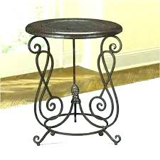 small metal end table accent tables round wood coffee garden and chairs elegant fin