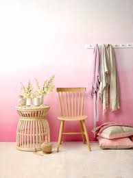 DIY Ideas for Painting Walls - Pink Ombre Wall - Cool Ways To Paint Walls -