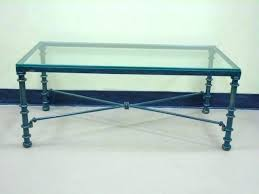 iron glass coffee table cast iron coffee table with glass top coffee table green painted wrought
