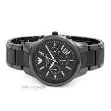 men s emporio armani ceramic chronograph watch ar1452 watch preview mens emporio armani ceramic chronograph watch ar1452