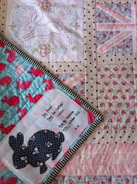 31 best Quilt Labels images on Pinterest | Appliques, Hand crafts ... & English Bunny Quilt the signature tag Adamdwight.com