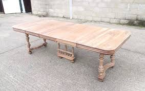dining tables large french antique dining table large 3 metre french walnut extending dining table on
