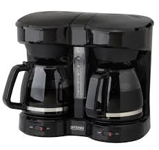 Amazon.com: Kitchen Selectives CM-302BL Dual Carafe 12-Cup Drip Coffee Maker,  Black: Amazon Launchpad