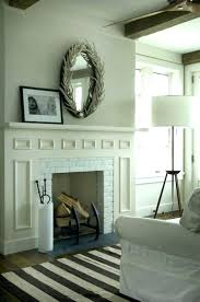 mirrors above fireplace hanging mirror over mantel screen firepla