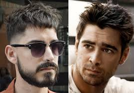 short and textured or messy is another hairstyle for men with thin hair the dishevelled nature makes it look like you have more hair on top