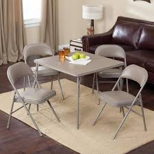Meco Sudden Comfort Deluxe Double Padded Chair And Back · Vinyl Folding Card Table Chairs