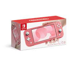 Buy Nintendo Switch Lite Console, Coral ...