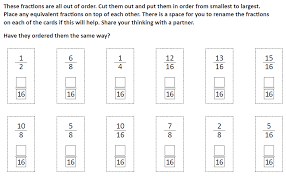 Comparing And Ordering Fractions Worksheets for all | Download and ...