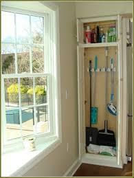 broom closet organizer tips free standing broom closet cabinet