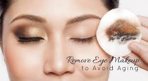 how to remove eye makeup