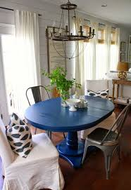 Painted Round Kitchen Table 126 Best Images About Painted Dining Set On Pinterest Dining