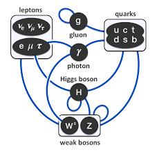 Resultado de imagen de Modelo Estandar de la física de partículas