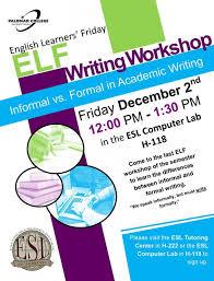 Informal Vs Formal In Academic Writing Events Calendar