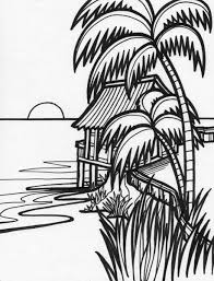 Small Picture Sunset Coloring Pages diaetme