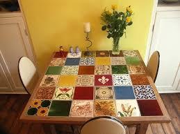 tile kitchen table i white tile top kitchen table set