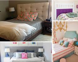 Diy bedroom furniture Painted Diy Headboards For Every Home 17 Diy Bedroom Furniture Makeover For Minimalists Diy Projects Minimal Bedroom Makeover Diy Projects Craft Ideas How Tos For