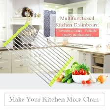 wall mounted dish rack home steel wall mount dish drying rack draining dish shelve various fruits