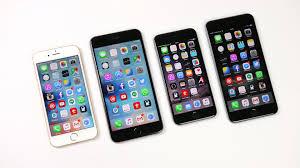 Kết quả hình ảnh cho iphone 6s vs 6 plus