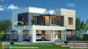 roof idea home architecture bedroom house plans double floor design and flat roof plan simple modern