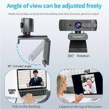 TISHRIC T200 otomatik odaklama kamerası 1080P Web Cam dönemi için mikrofon  ile Pc/bilgisayar Usb kamera Web Cam kamerası Full Hd 1080P|Webcams