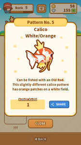 All Magikarp Patterns Delectable Magikarp Patterns In Magikarp Jump
