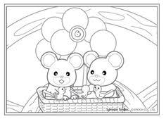 38 Best Crafty Sylvanian Families Coloring Images Family