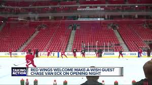 Red Wings Home Opener At Little Caesars Arena