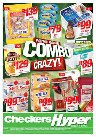 Checkers Hyper Gauteng Crazy Combo Specials 21 Jan 03 Feb 2019