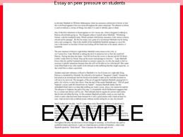essay on peer pressure on students coursework academic writing service essay on peer pressure on students peer pressure essays peer pressure has many effects on