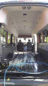 Seat Removal Question For 2017 Passenger Van Page 2 Ford Transit Usa Forum Van Conversion Interior Ford Transit 15 Passenger Van
