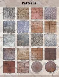 stamped concrete patterns mi decorative concrete patterns mi stamped concrete farmington hills mi