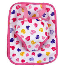 American Doll Size Chart Details About Fashion Travel Backpack Kids Bag Heart For 18inch Ag American Doll Dolls Accs