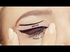 wele to a hack or wack or woop style video but with makeup stencils a quick tutorial and first impression video on how to apply eyeliner for