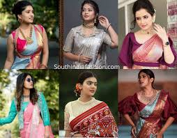 Latest High Neck Blouse Designs 2019 New Blouse Designs 2019 Latest Silk Saree Blouse Designs