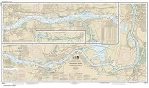 12314 Delaware River Philadelphia To Trenton Nautical Chart