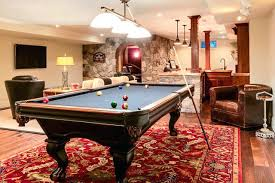 rug under pool table private beach residence traditional basement area rug under pool table